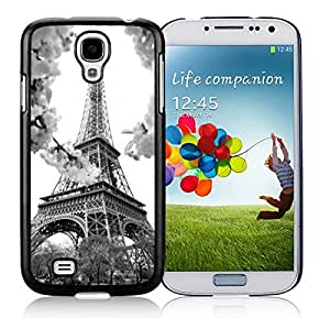 Hot Sale Eiffel S4 Case Best Samsung Galaxy S4 I9500 Case Black Cover
