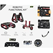 OSEPP MECHF-01 Robotic Functional Kit (Arduino Compatible) Components