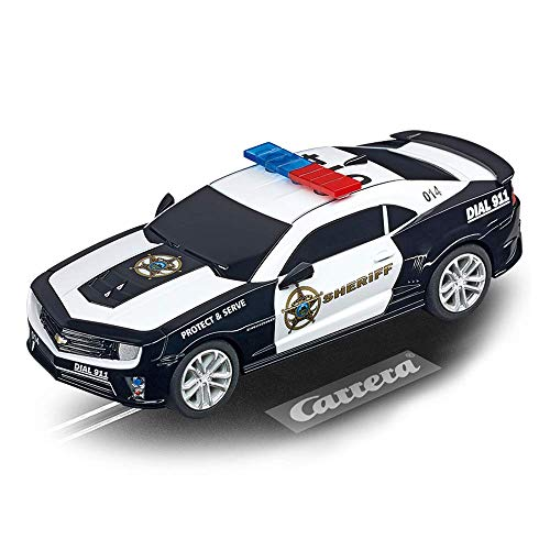 Carrera GO 64031 Chevrolet Camarao ZL1 Sherrif Slot Car Racing Vehicle (Carrera Slots)