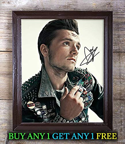Josh Hutcherson The Hunger Games Autographed Signed 8x10 Photo Reprint #01 Special Unique Gifts Ideas Him Her Best Friends Birthday Christmas Xmas Valentines Anniversary Fathers Mothers Day
