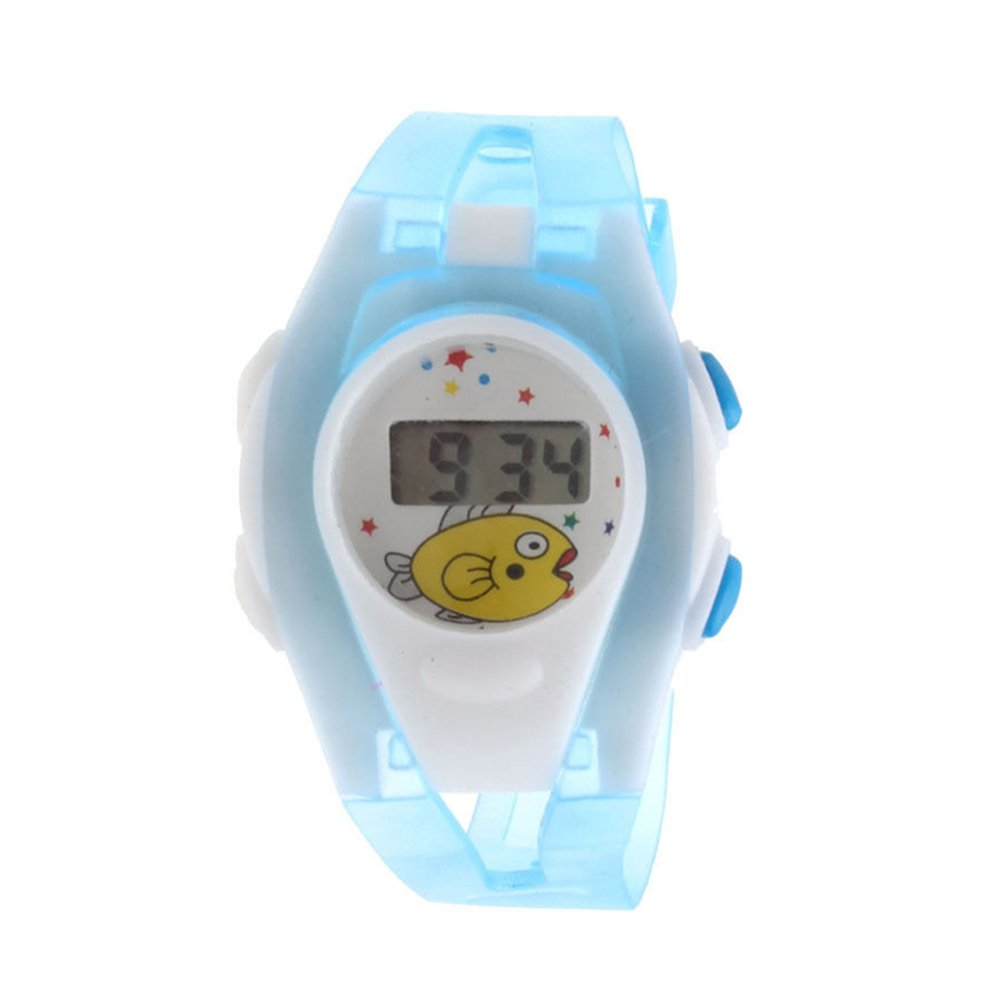 Amazon.com: 2015 Hot Boy Girl Student Digital Watch Time LCD ...