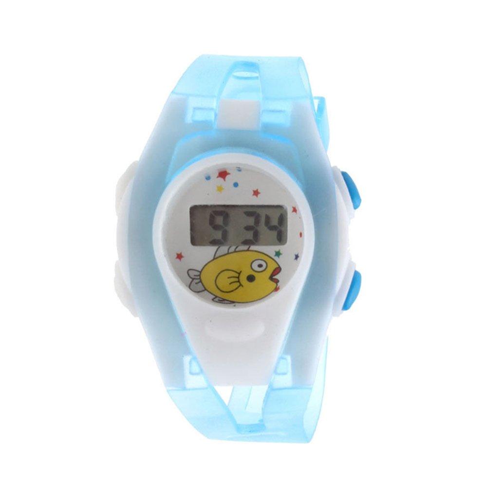 Amazon.com: 2015 Hot Boy Girl Student Digital Watch Time LCD ...