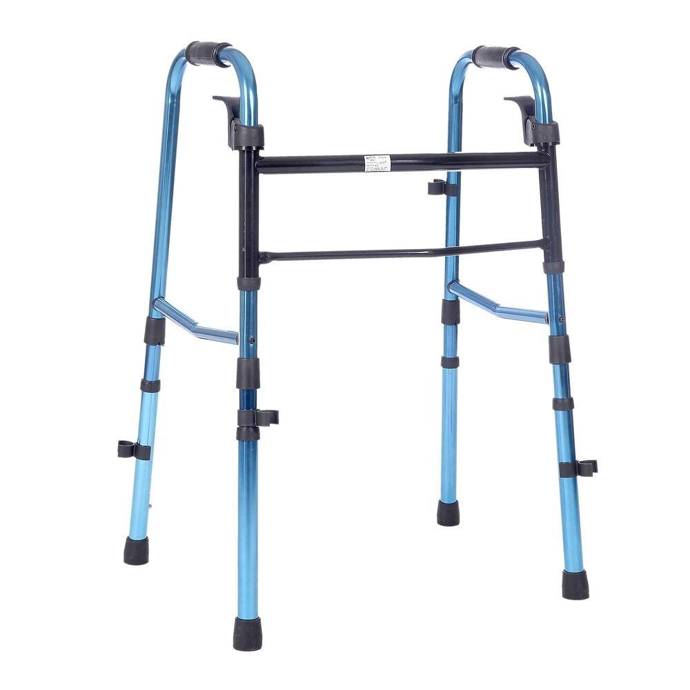 SUKONG 歩行器 ワンタッチ式 折り畳み 脚高さ調節可 高齢者障害者のため ウォーク立ち上がり補助 B0797P18KF