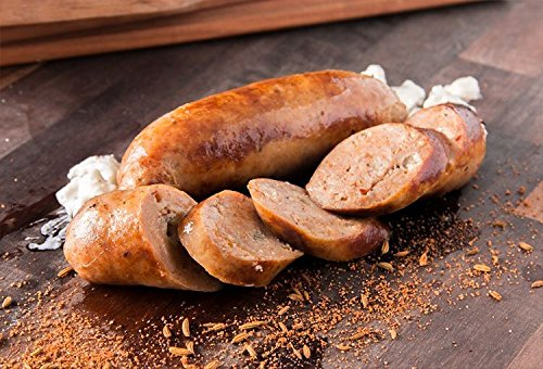 Chicken Sausage with Buffalo & Blue Cheese