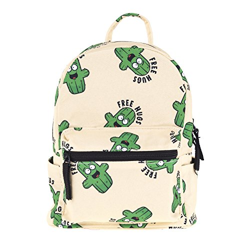Cute 10 inch mini pack bag backpack for grils children and adult (cactus)