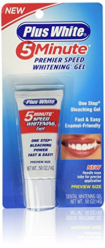 Plus White 5 Minute Premier Speed Whitening Gel, 0.50 Ounce
