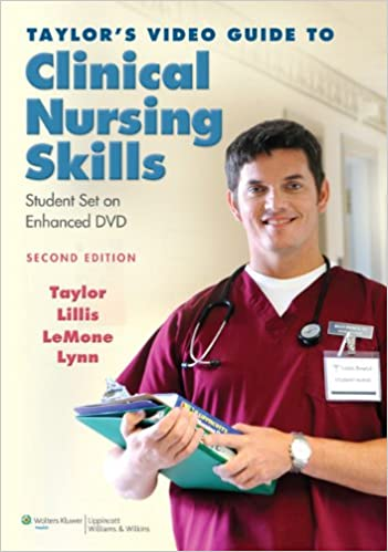 Taylors video guide to clinical nursing skills student set on taylors video guide to clinical nursing skills student set on enhanced dvd 9781608311491 medicine health science books amazon fandeluxe Image collections