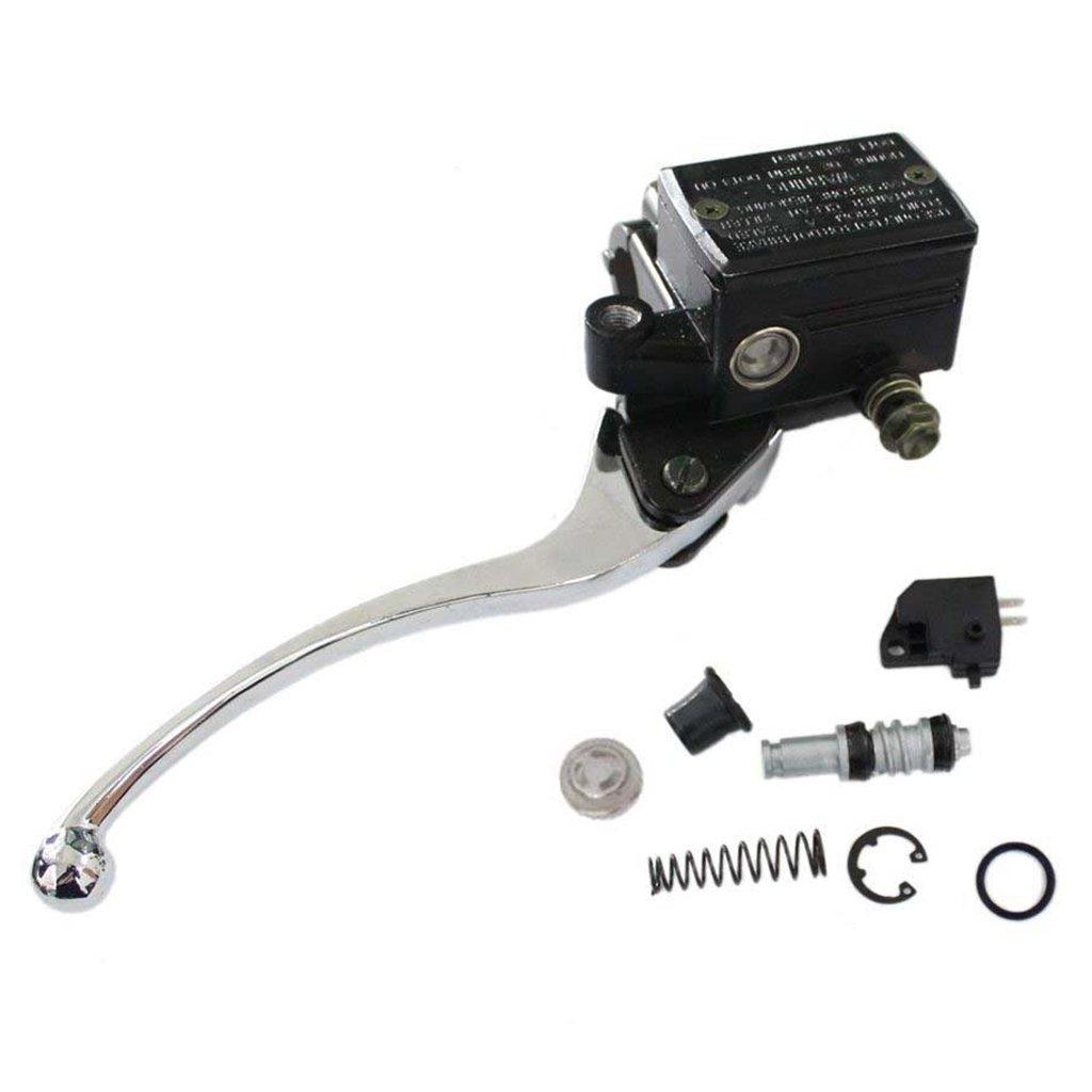 HURI Brake Master Cylinder with Left Clutch Lever for Yamaha Virago 750 920 1000 1100 XV1000 XV250 XV500 XV535 XV550 XV750 XV920