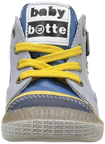 babybotte Avatar, Zapatillas Altas para Niños Azul (Bleu)