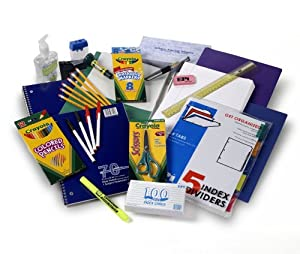 Crayola Sixth through Eighth Grade Supply Pack