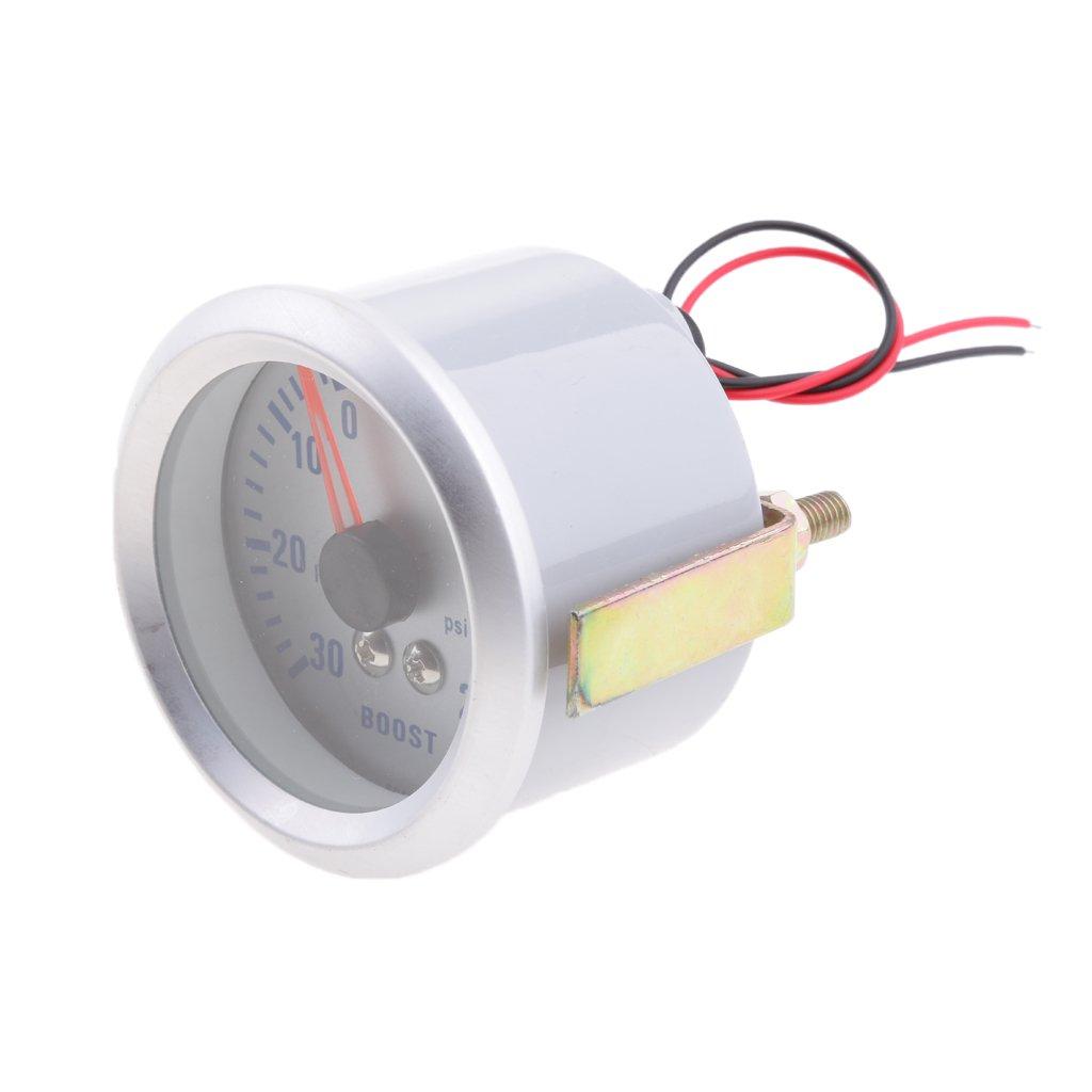D DOLITY 20 PSI Turbocharger Turbo Boost/Vacuum Gauge Meter Car Parts