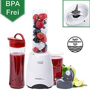 300 Watt Smoothie Maker 28.000 U/min- BPA Frei und Spülmaschinenfeste...