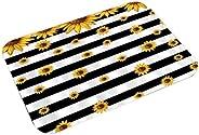 Wumedy New Home Bedroom Doormat Floor Soft Non-slip Sunflower Mat Rug Carpets Shoulder Bags