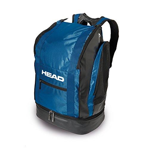 HEAD Tour Backpack 40Rucksack Unisex Negro / Azul marino xCjklGhH
