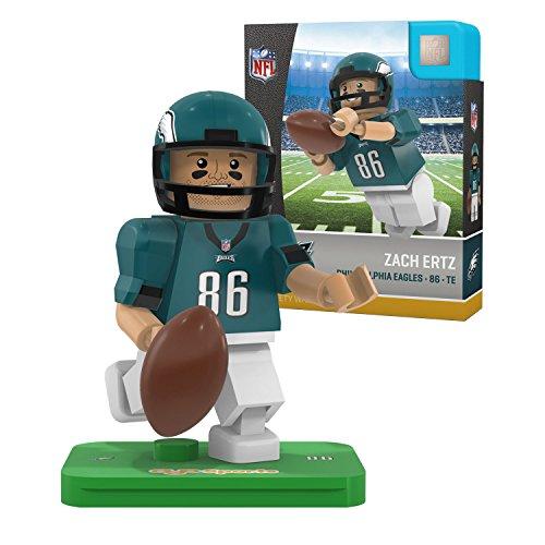 Card Eagles Football Philadelphia Nfl (NFL Philadelphia Eagles Gen4 Limited Edition Zach Ertz Mini Figure, Small, White)