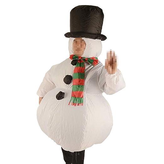 SSBH Ropa Inflable de muñeco de Nieve, Cosplay de Halloween ...