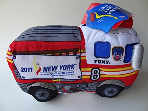 2011 New York Fire Truck FDNY Plush Bronx Toy SIREN World Police & Fire Games ,#G14E6GE4R-GE 4-TEW6W229995