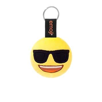 Emoji - Llavero Gafas Sol Amarillo