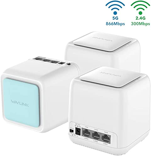 Smart Mesh Wi-Fi System,Wavlink 2.4GHz 5Ghz Smart Wi-Fi Router Mesh