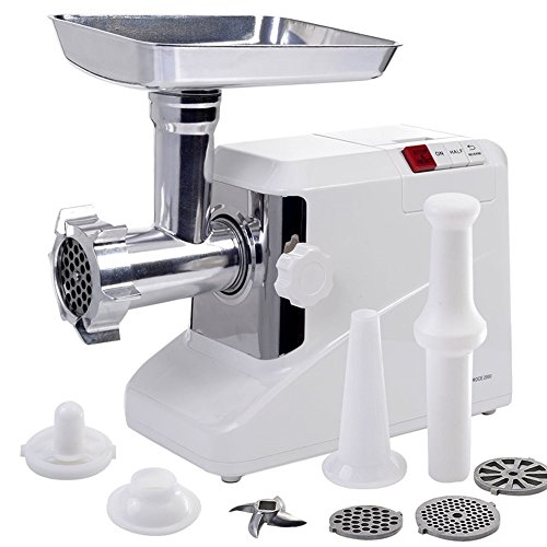 2000 Watt Meat Grinder Electric 2.6 HP Industrial Meat Grinder 3 Speed w/3 Blade TKT-11](1 3 4 Hp Meat Grinder)