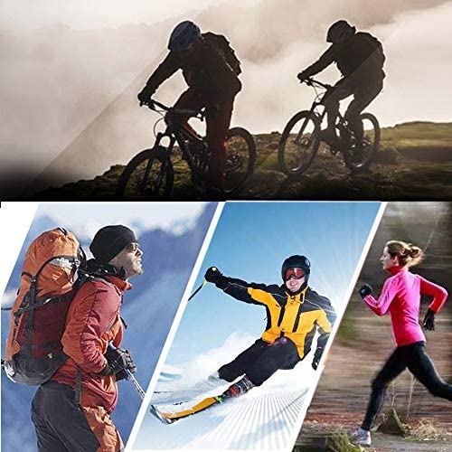 Koxvzec Winter Gloves Touch Screen Anti-Slip Windproof & Waterproof Warm Gloves Cycling Driving Running Hiking Gloves for Men and Women
