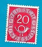 Used German Postage Stamp %281951%29 20