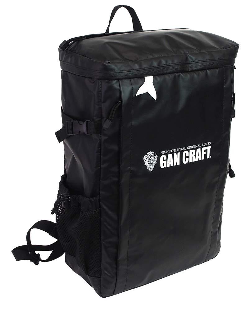 ガンクラフト Gスクエアバッグ GANCRAFT G-SQUAREBAG カバン色 01 ブラック/ブラック B07K8ZGTH7