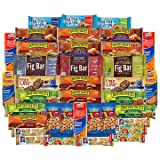Healthy Bars & Nuts Care Package Variety Pack Bulk Sampler Includes Fig Bar, Fiber One, Quaker, Fig Bars, Nature Valley, Planters, More (36 Count)