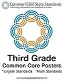 Third Grade Common Core Posters, CoreCommonStandards Staff, 147911832X