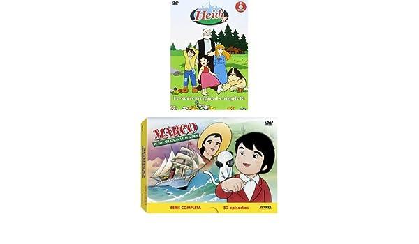 Pack Heidi + Marco (Series Completas) [DVD]: Amazon.es: Cine y ...