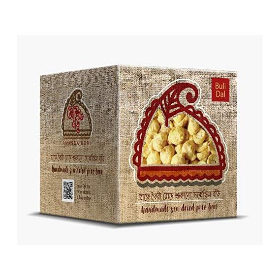 Ananda Bori Delicious Buli/Urad Dal Bori 120g (Pack of 3) - 360g