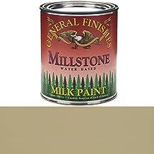 General Finishes QMI Milk Paint, 1 quart, Millstone