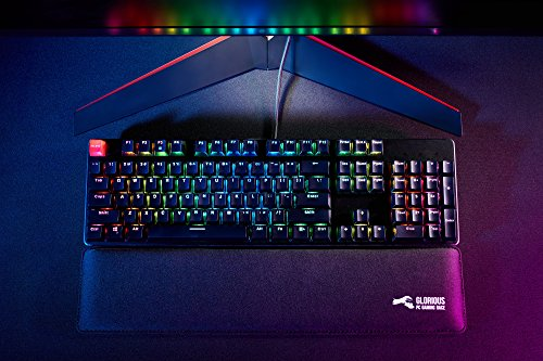 Glorious Modular Mechanical Gaming Keyboard - Full Size (104 Key) - RGB LED Backlit, Brown Switches, Hot Swap Switches (Black)(GMMK-BRN) by Glorious PC Gaming Race (Image #4)