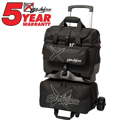 KR Hybrid X 4 Ball Roller Black Bowling Bag