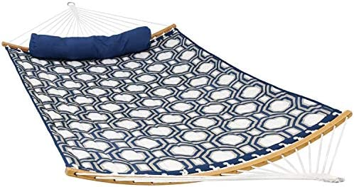 Sunnydaze Quilted 2-Person Hammock