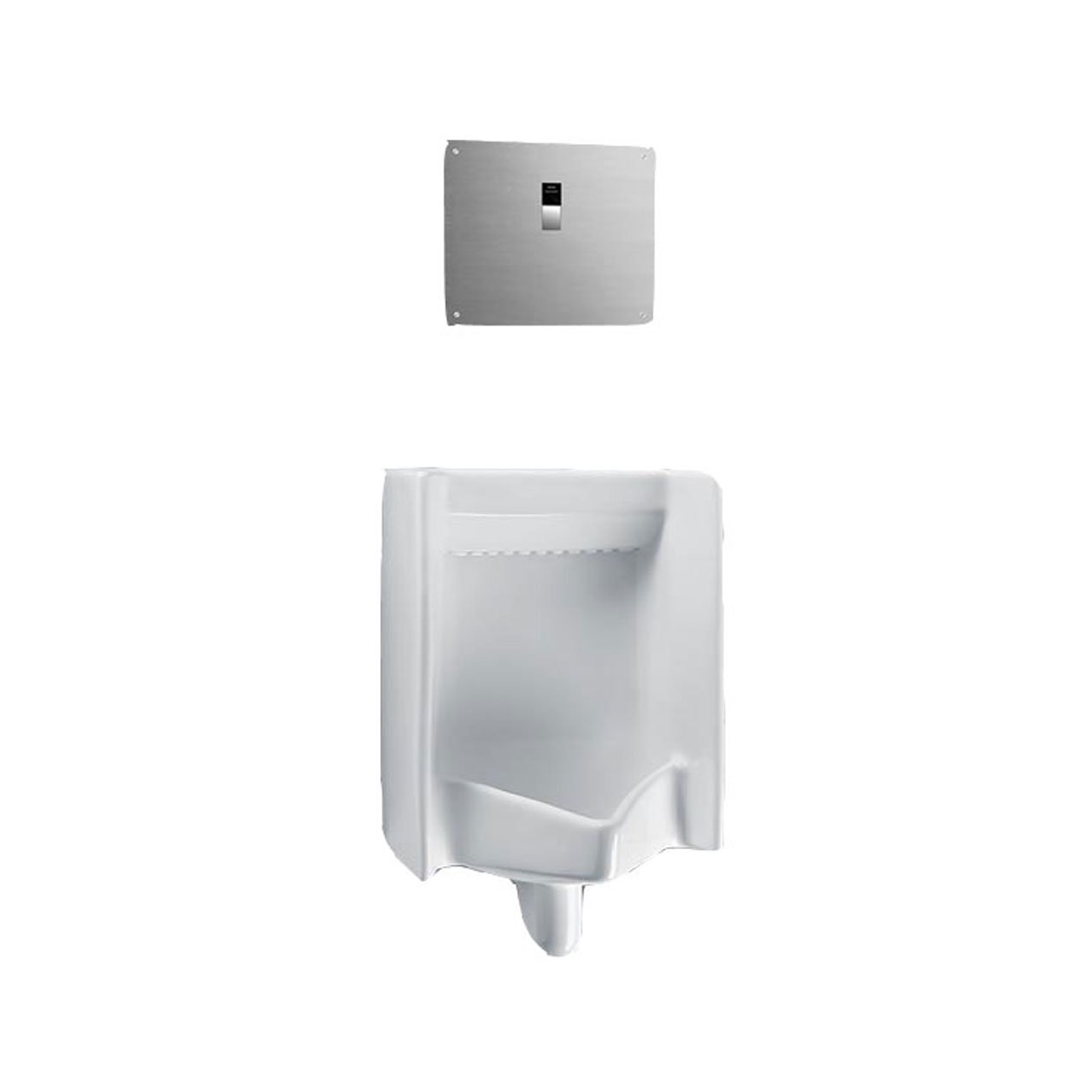 Toto UT445UV#01 Commercial Washout High Efficiency 0.125 GPF Cal-Green Urinal with Back Spud, White White