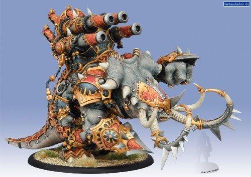 Privateer Press - Hordes - Skorne: Mammoth Gargantuan Model Kit 4