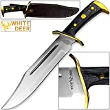 White Deer MAGNUM XXL Large Bowie Knife High Carbon Stainless Steel Extreme Duty Review