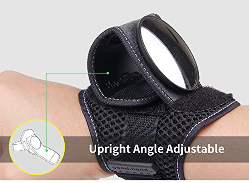Adjustable Bicycle Wrist Cycling Mirrors Wrist Wear Mirrors for Cyclists Mountain Road Riding Cycling Accessories Small Gift Gadgets Bike Mirrors for Safety Rear View