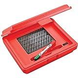 Starrett S4000-060 Precision Steel Pin Gage Set