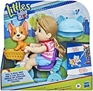 Baby Alive Littles, Roll 'n Pedal Trike, Doll Tricycle with Push-Stick, Little Jade Doll, Pet Accessory, Toy f