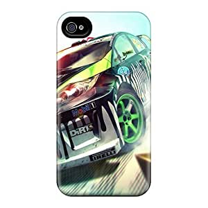 IvvcsiQ7307mKhDK Tpu Phone Case With Fashionable Look For Iphone 4/4s - Dirt 3
