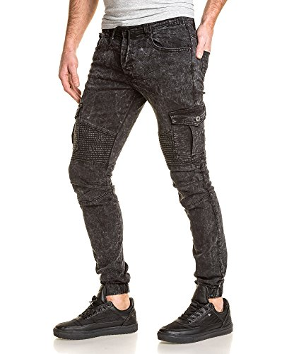 Gov denim - Pantalón - para hombre negro