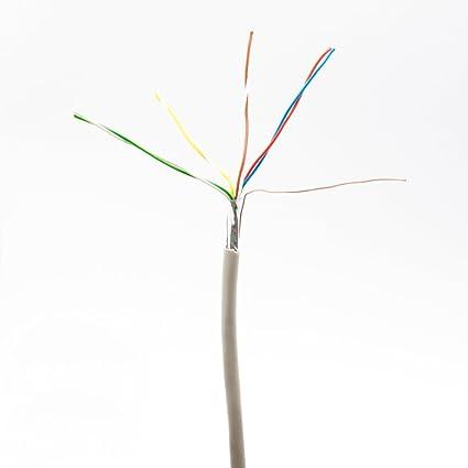Cable para cerradura, timbre, cerradura eléctrica con videoportero, interfono, alarma de 8 cables, 12 cables, 0,6 mm², Abus, Avidsen, SCS, Nice, ...