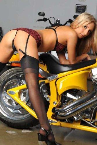 Bike bikini hot hot pic much