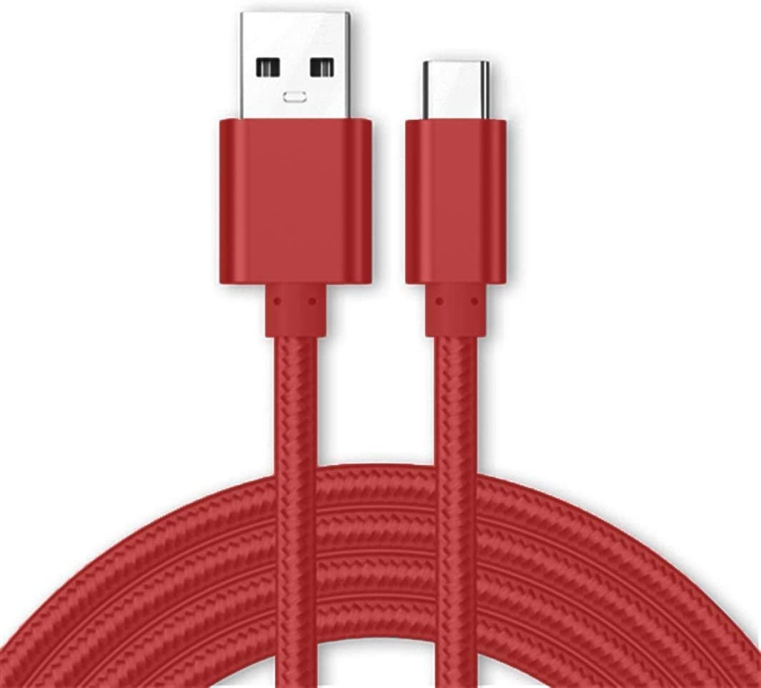 White+Black Authentic Short Two 8 USB Type-C Cable for Sony H3123 Also Fast Quick Charges Plus Data Transfer!