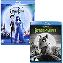 Corpse Bride - Frankenweenie - Tim Burton - 2 Movie Bundling Blu-ray