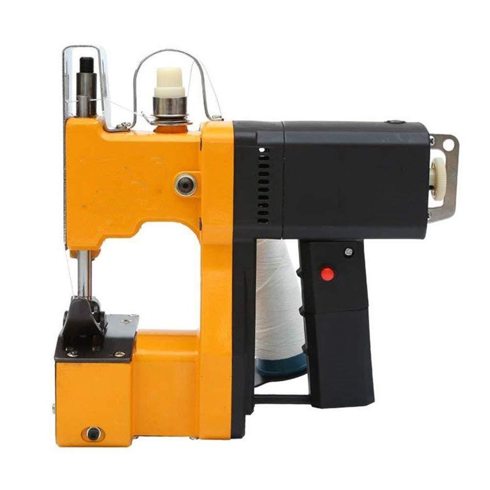 HUKOER Máquina de coser portátil Máquina de coser más cercana Bolsa de embalaje eléctrico Sellado de costura para bolsa de plástico de papel de arroz saco ...