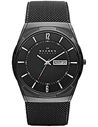 Men's SKW6006 Melbye Black Titanium Mesh Watch