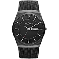 Skagen Men's SKW6006 Melbye Black Titanium Mesh Watch